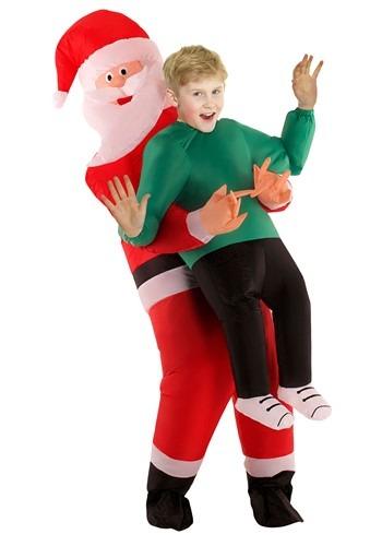 Santa Pick Me Up Costume For Kids