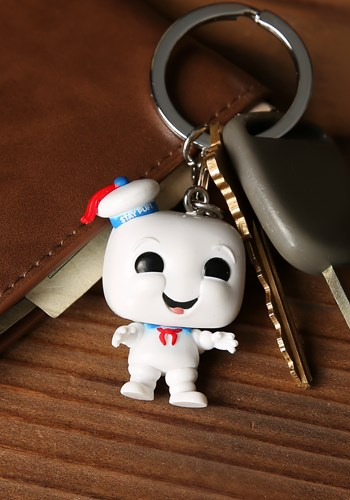 Ghostbusters- Stay Puft Pop! Keychains Updated 2