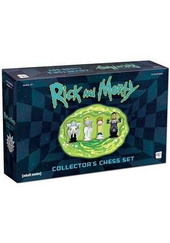 Rick and Morty Chess Set