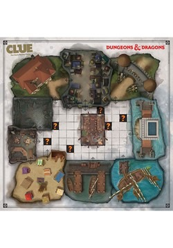 CLUE Dungeons & Dragons Board Game Alt 2