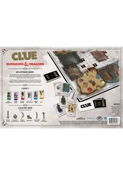 CLUE Dungeons & Dragons Board Game Alt 3