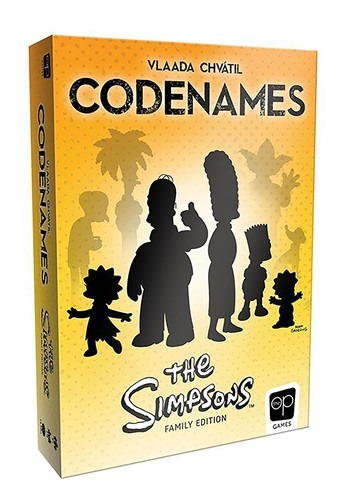 The Simpsons CODENAMES Card Game - from $21.99
