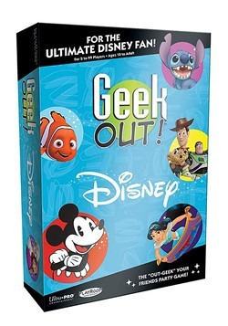 GEEK OUT Disney Trivia Game
