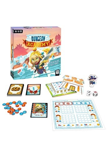 Dungeon Academy Card and Dice Game