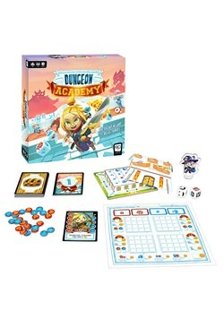 Dungeon Academy Card/Dice Game