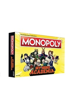 MONOPOLY My Hero Academy Board Game