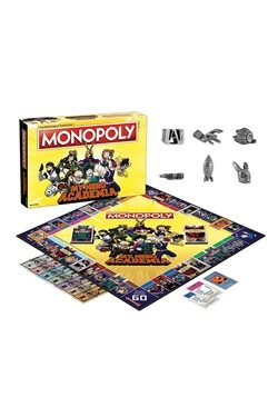 MONOPOLY My Hero Academy Board Game Alt 1