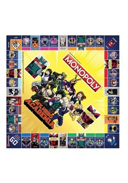 MONOPOLY My Hero Academy Board Game Alt 2