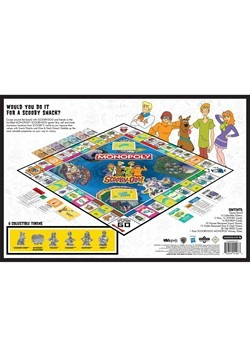 MONOPOLY Scooby-Doo! Board Game Alt 2