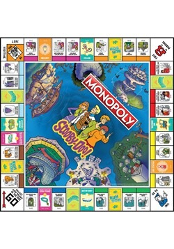 MONOPOLY Scooby-Doo! Board Game Alt 3