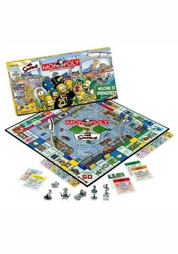 The MONOPOLY The Simpsons Board Game
