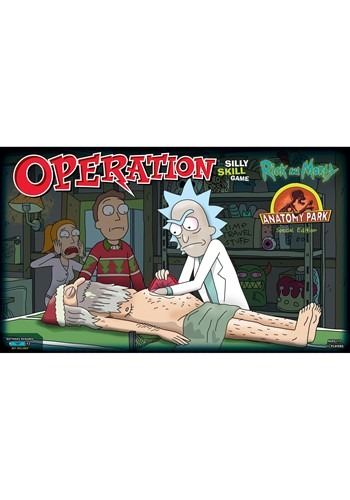 Operation Rick & Morty Board Game