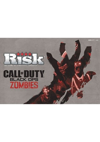 Risk Call of Duty Black Ops Zombies Board Game