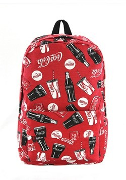 Coca-Cola Red All-Over Print Backpack