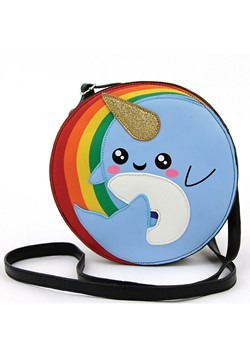 Crossbody Narwhal Rainbow Bag