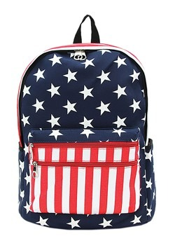 American Flag Mini Backpack
