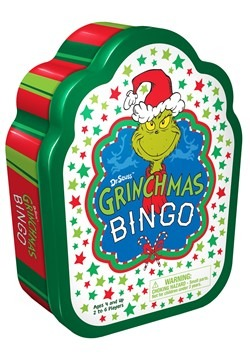 Dr Seuss Grinchmas Bingo Game