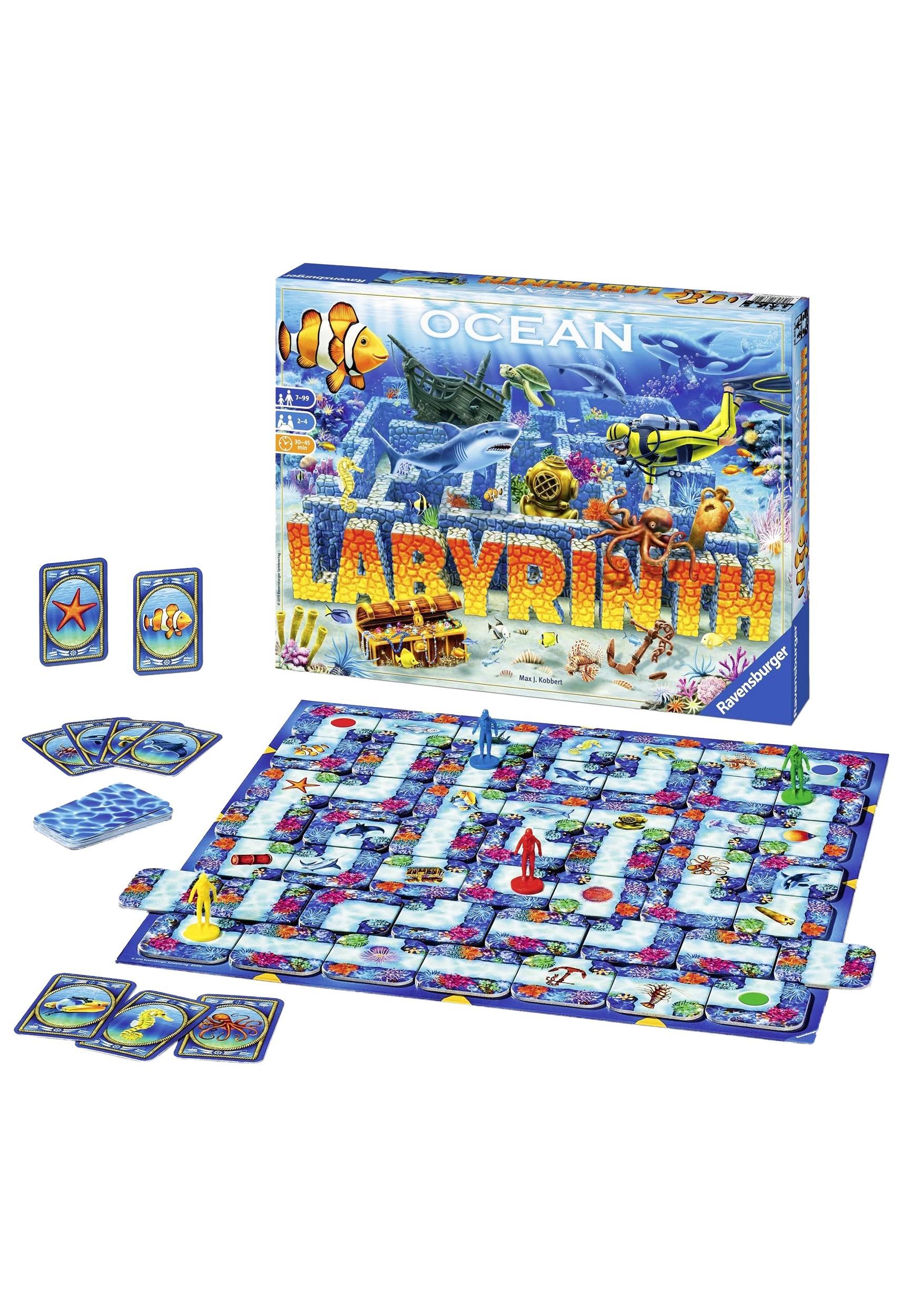 Ocean Labyrinth Board Game