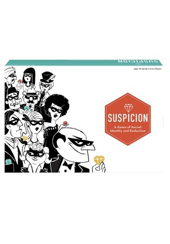Suspicion Family Board Game