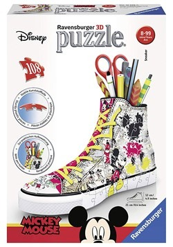 Disney Mickey Mouse 3D Sneaker 108 PC Puzzle