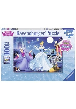 Disney Adorable Cinderella 100 pc Glitter Puzzle