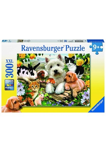 Ravensburger Happy Animal Buddies 300 Piece Jigsaw Puzzle