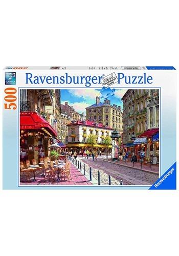 Ravensburger Quaint Shops 500 Piece Jigsaw Puzzle