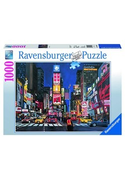 Times Square NYC 1000 Piece Ravensburger Puzzle