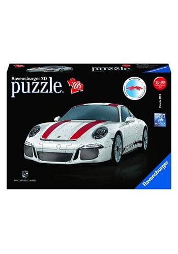 porsche 911 r 108 piece 3d ravensburger jigsaw puzzle. Black Bedroom Furniture Sets. Home Design Ideas