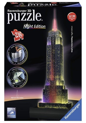 Ravensburger Empire State Night Edition 3D Jigsaw Puzzle