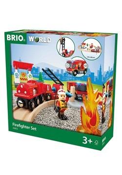 BRIO Wooden Firefighter Set