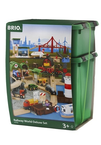 BRIO Wooden Railway World Deluxe Set
