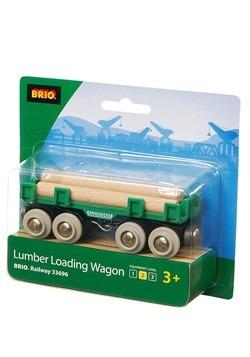 BRIO Lumber Loading Wagon