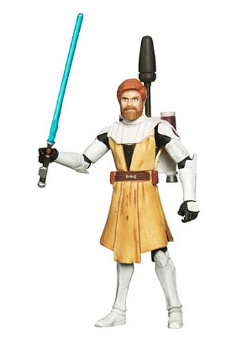 Obi Wan Kenobi Clone Wars Action Figure No 2