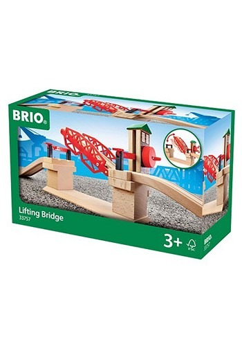 Wooden BRIO Lifting Bridge