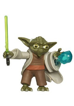 Yoda Force Blast Action Figure - No. 3