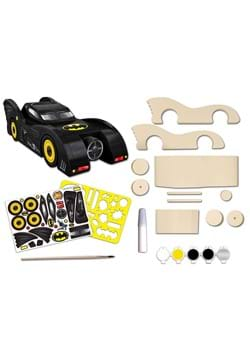 Batmobile Wood Paint Set