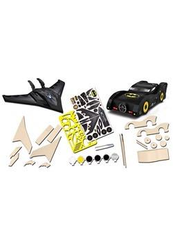 2-Pack Batman Mini Wood Paint Set Alt1