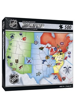 NHL Hockey Map