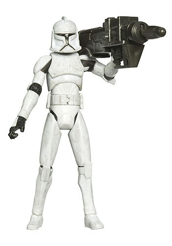 Clone Wars Clone Trooper Action Figure - No. 5