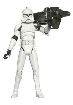 Clone Wars Clone Trooper Action Figure - No. 5