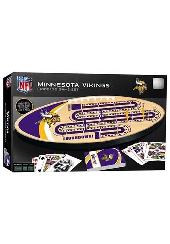 NFL Minnesota Vikings Cribbage Board Set