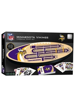 NFL Minnesota Vikings Cribbage Board Set