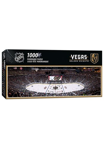 NHL Vegas Golden Knights 1000 Piece Panoramic Puzzle