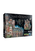 Game of Thrones The Red Keep 3D Puzzle