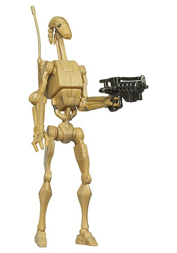 Clone Wars Battle Droid Action Figure - No. 7