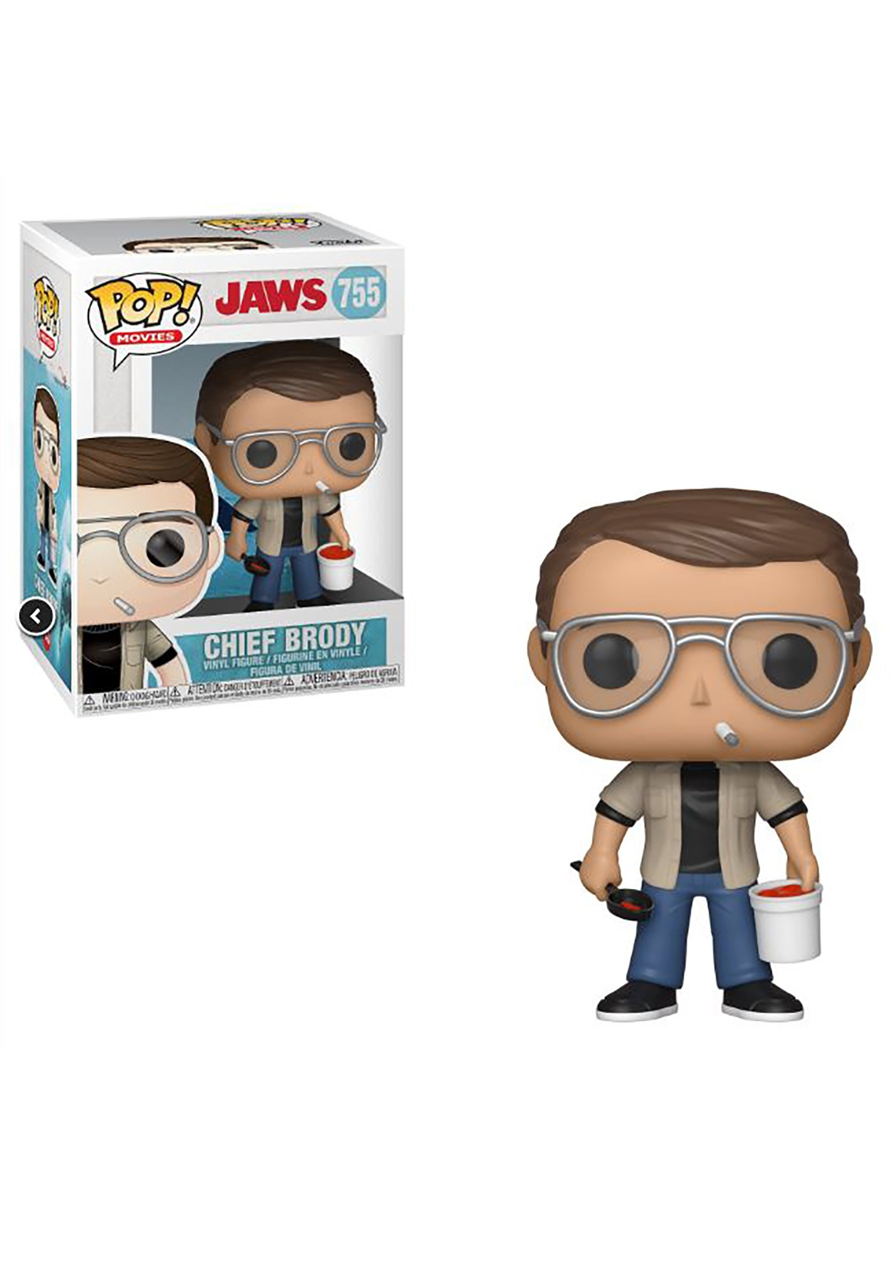 """Jaws 6/"""" Jaws w//Diving Tank FUNKO POP"""