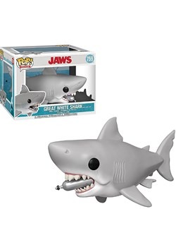 JAWS 6 Jaws w Diving Tank Pop Movies Figure