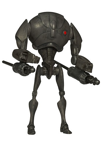 Super Battle Droid Clone Wars Action Figure - No. 12