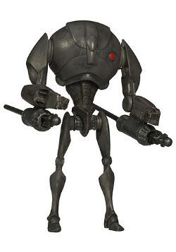 Super Battle Droid Clone Wars Action Figure - No. 12
